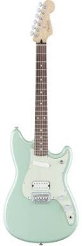 Fender 0144020549 Duo-Sonic HS, Rosewood Fingerboard, Surf Green