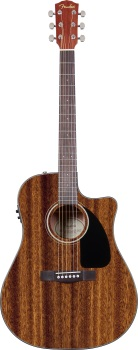 Fender 0961590221 CD-60CE All Mahogany, Rosewood Fingerboard, Natural