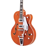 Gretsch 2400117812 G6120SSL Brian Setzer Nashville Orange Flame Lacquer With Case