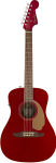 Fender 0970722009 Candy Apple Red Malibu Acoustic Guitar